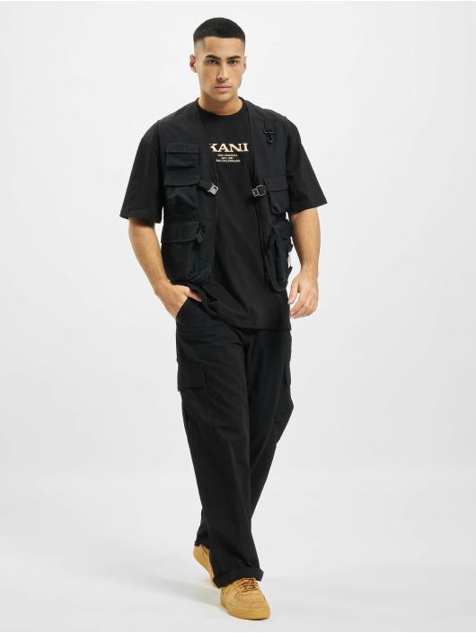 Karl Kani T-paidat Retro musta