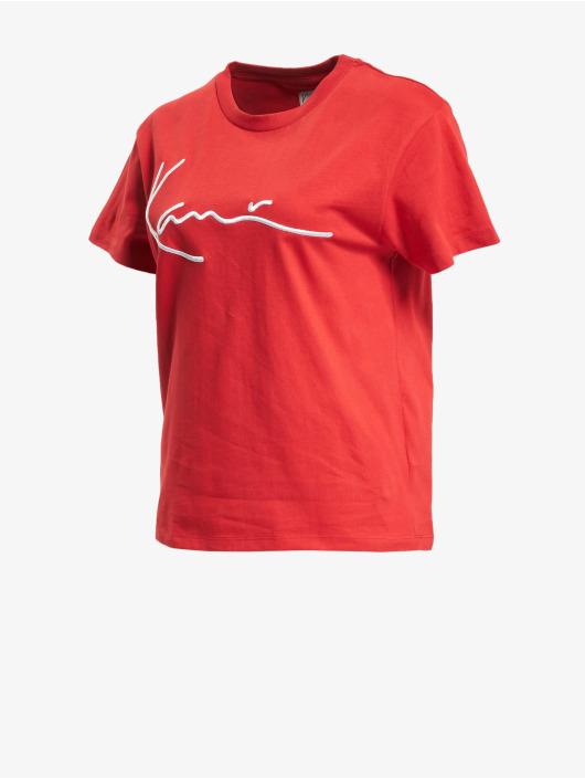 Karl Kani T-paidat Kk Signature punainen