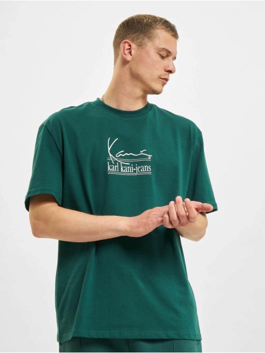 Karl Kani T-paidat Signature Kkj vihreä