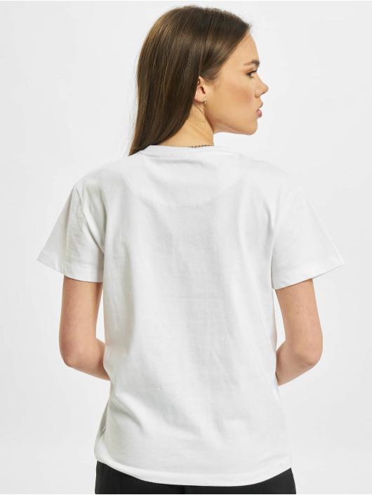 Karl Kani T-shirt Signature Brk bianco