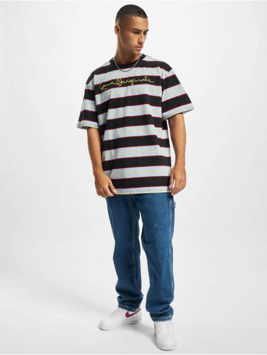Karl Kani T-shirt Originals Stripe blå