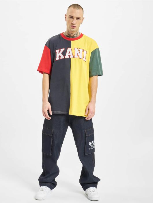 Karl Kani T-Shirt College Block blau