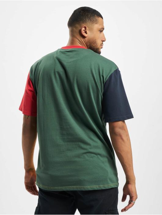 Karl Kani T-Shirt Kk Serif Block blau