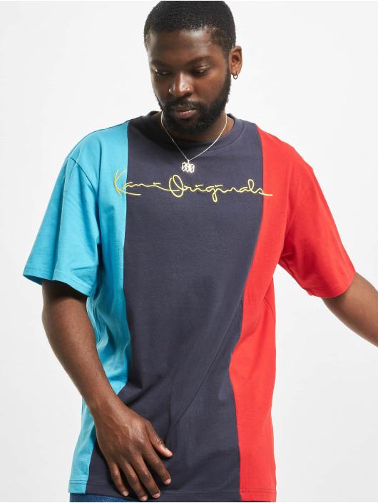 Karl Kani T-Shirt Block blau