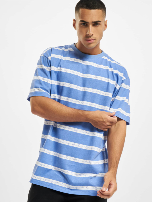 Karl Kani T-Shirt Originals Stripe Tee blau