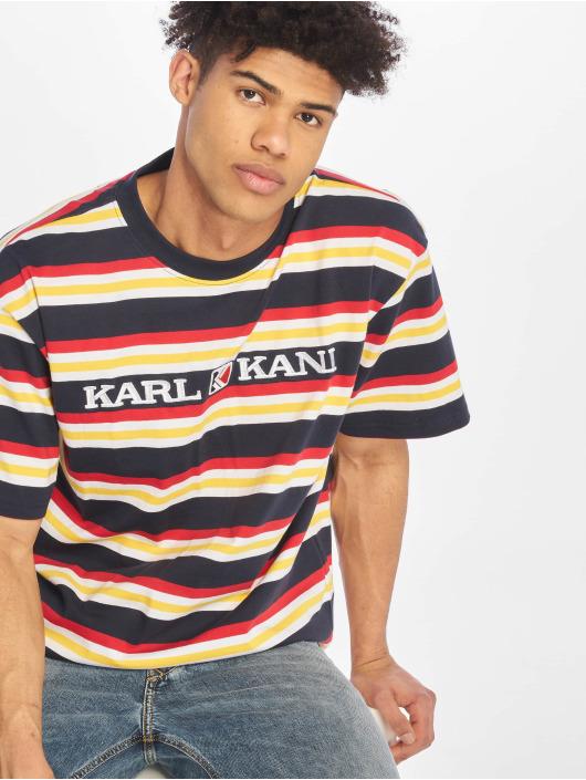 bfdc81dacee8 Karl Kani bovenstuk / t-shirt Retro Stripe in blauw 621748