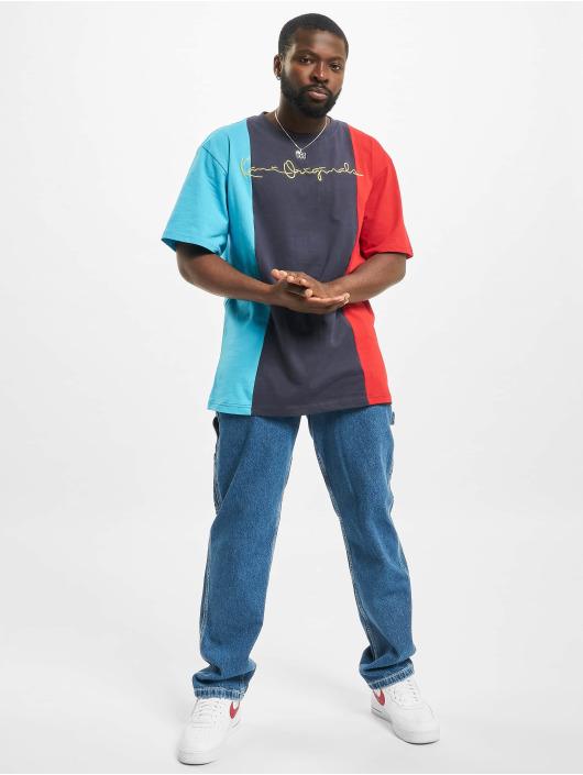 Karl Kani t-shirt Block blauw