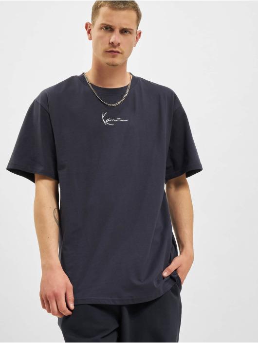 Karl Kani T-Shirt Small Signature bleu
