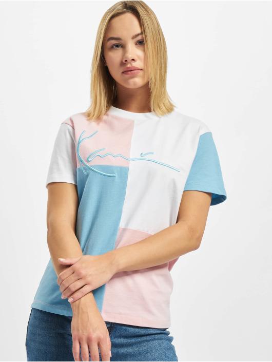 Karl Kani T-Shirt Signature Block bleu