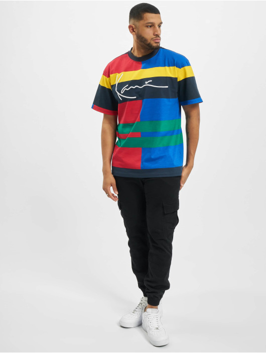 Karl Kani T-Shirt TBI Signature Block blue