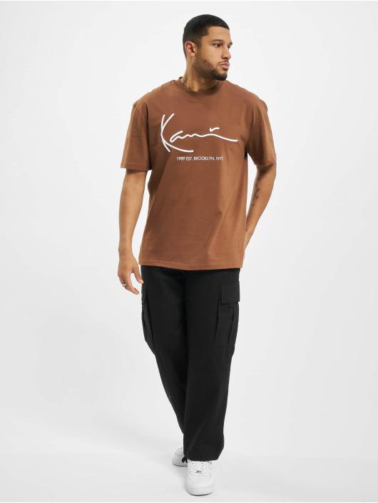 Karl Kani T-Shirt Signature Brk braun