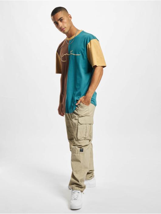 Karl Kani T-Shirt Signature Block brown