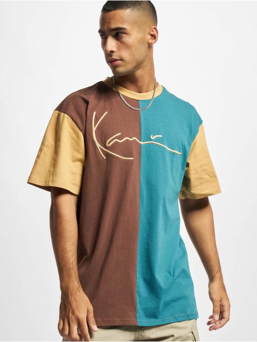 Karl Kani t-shirt Signature Block bruin