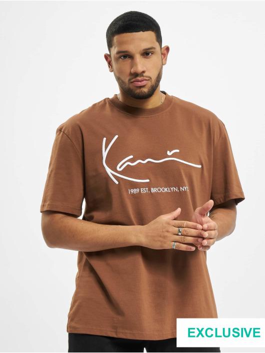 Karl Kani T-Shirt Signature Brk brun