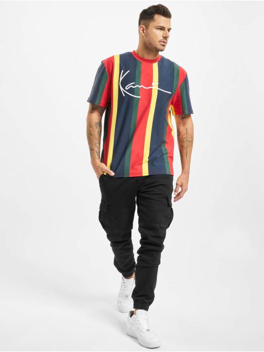 Karl Kani T-Shirt Signature Stripe colored