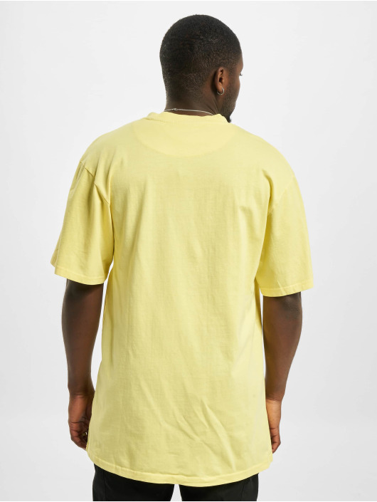 Karl Kani T-Shirt Small Signature Washed gelb