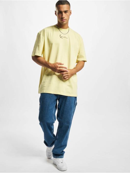 Karl Kani T-Shirt Small Signature gelb