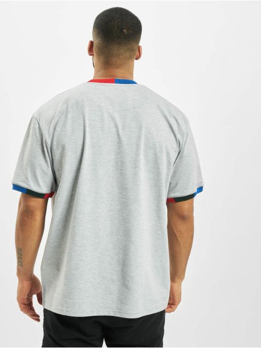 Karl Kani T-Shirt Signature Ringer grau