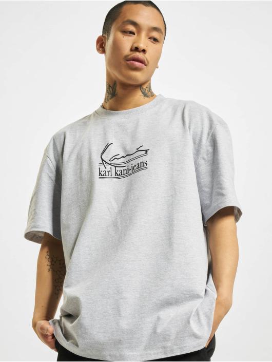 Karl Kani t-shirt Signature Kkj grijs