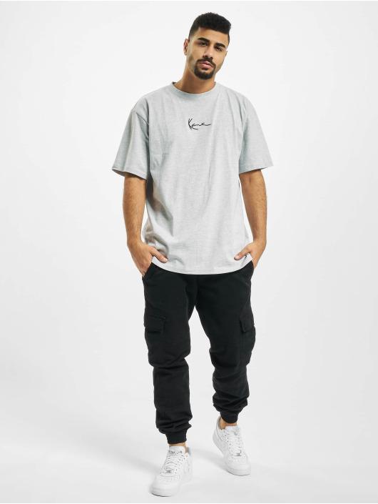 Karl Kani T-Shirt Kk Small Signature gris