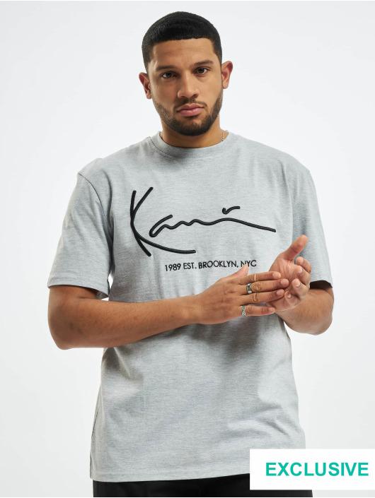 Karl Kani T-Shirt Exclusiv Signature Brk gris