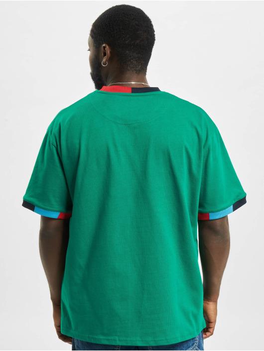 Karl Kani t-shirt Small Signature groen