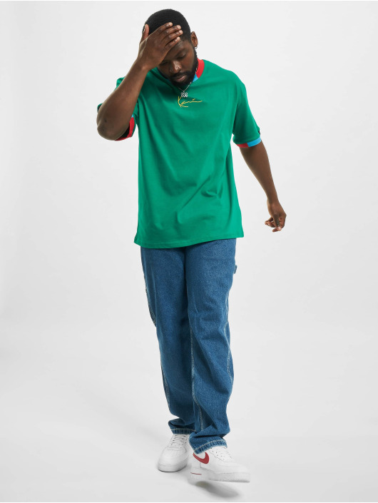 Karl Kani T-Shirt Small Signature grün