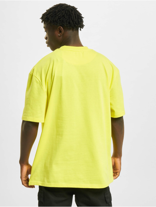 Karl Kani T-Shirt Small Signature Box jaune