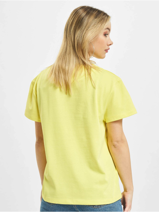 Karl Kani T-Shirt Small Signature Box jaune