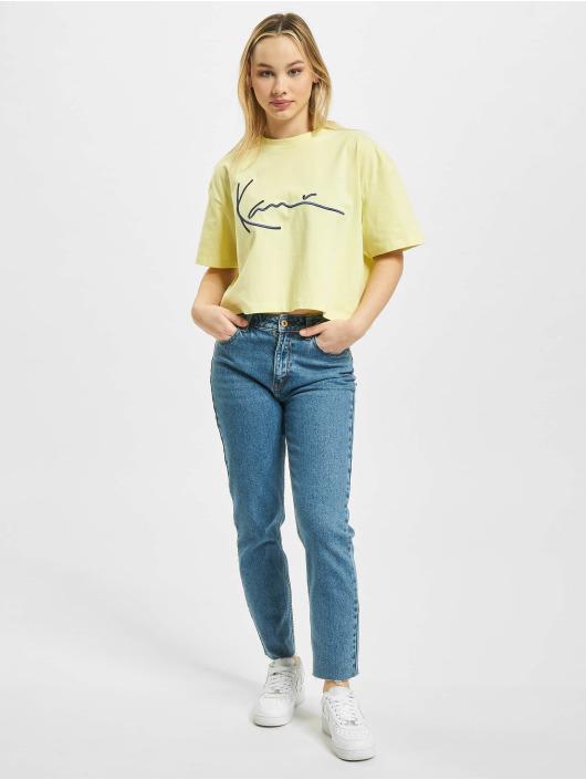 Karl Kani T-Shirt Signature Lime jaune