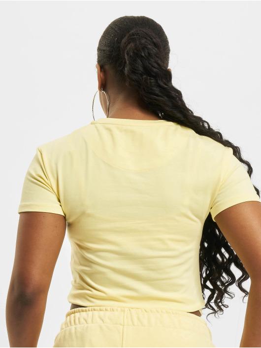 Karl Kani T-Shirt Small Signature jaune