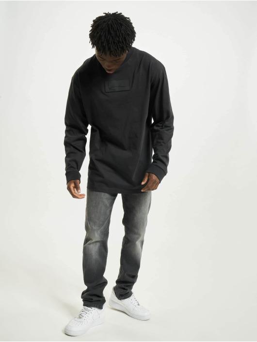 Karl Kani T-Shirt manches longues Small Signature Box noir