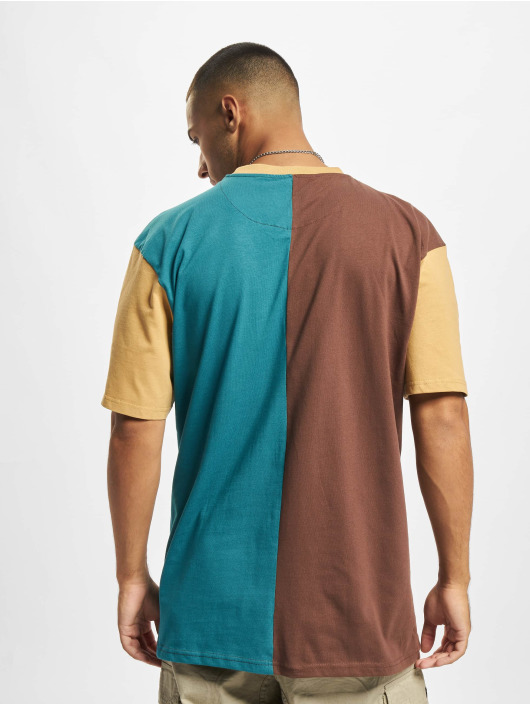 Karl Kani T-shirt Signature Block marrone