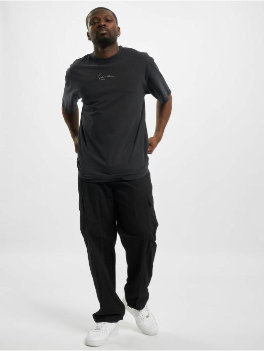 Karl Kani T-shirt Small Signature Washed nero