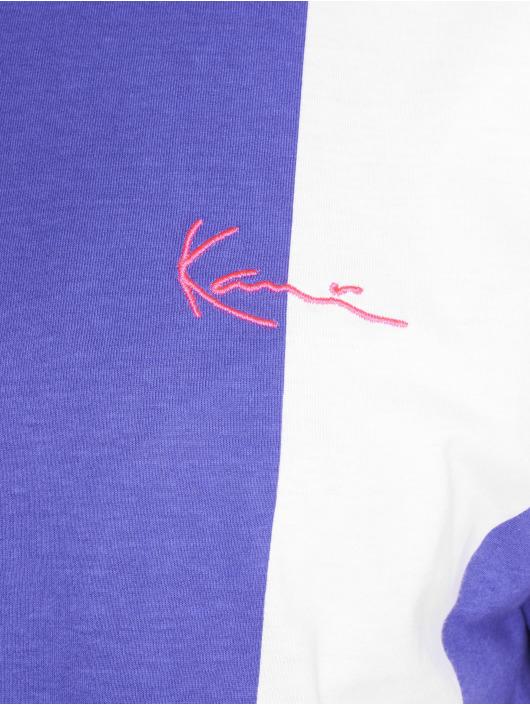 Karl Kani t-shirt Retro Stripe paars