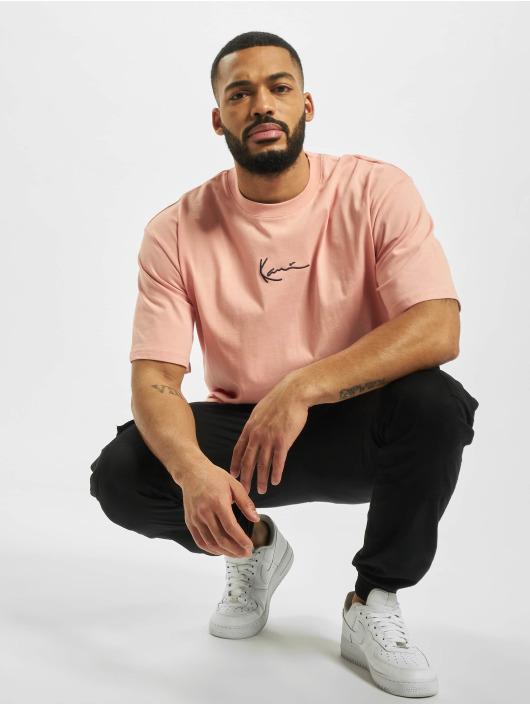 Karl Kani T-Shirt Signature pink