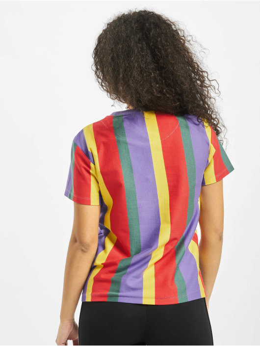 Karl Kani T-Shirt Signature Stripe purple