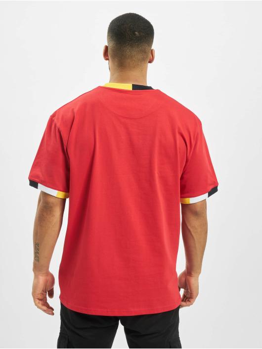 Karl Kani T-Shirt Signature Ringer red