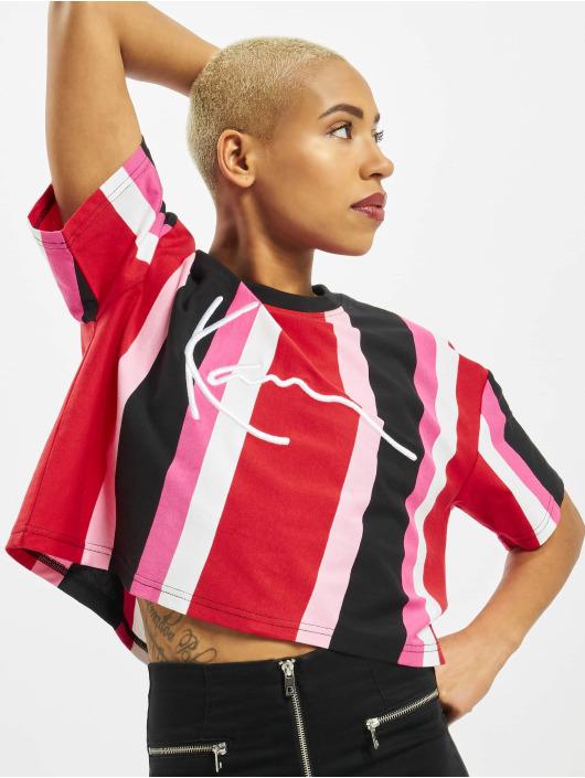 Karl Kani t-shirt Signature Stripe rood