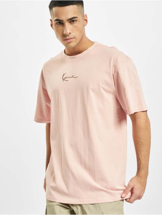 Karl Kani T-Shirt Small Signature rose