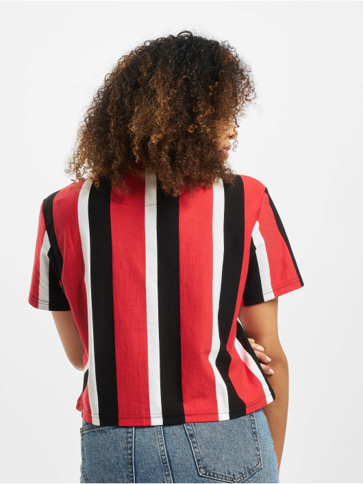Karl Kani T-Shirt Kk Sport Stripe Red rot