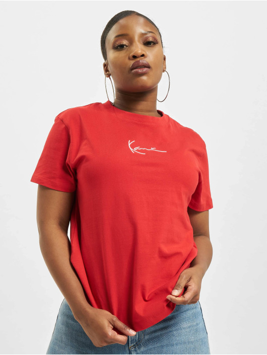 Karl Kani T-Shirt Small Signature rot