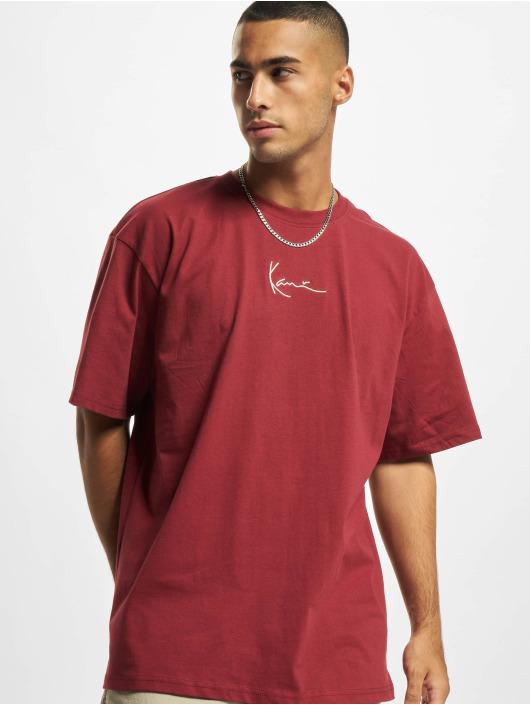 Karl Kani T-Shirt Small Signature rot