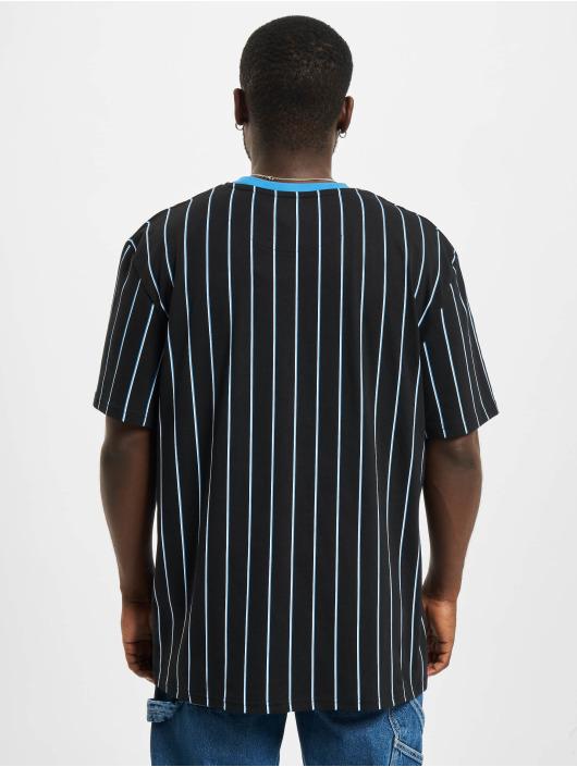 Karl Kani T-Shirt Originals Pinstripe schwarz