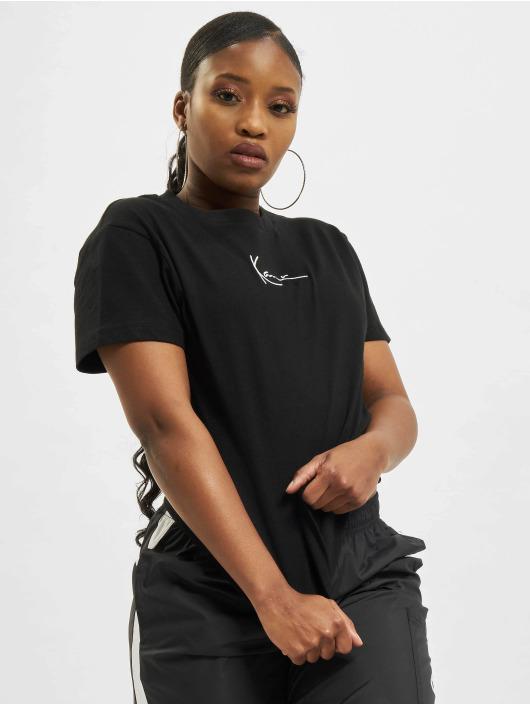 Karl Kani T-shirt Small Signature svart