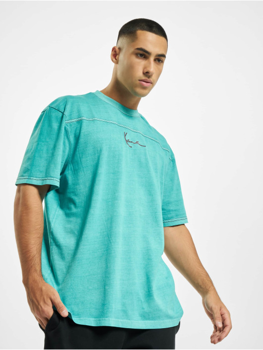 Karl Kani T-Shirt Kk Small Signature Washed türkis