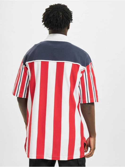 Karl Kani T-Shirt Retro Block Stripe weiß