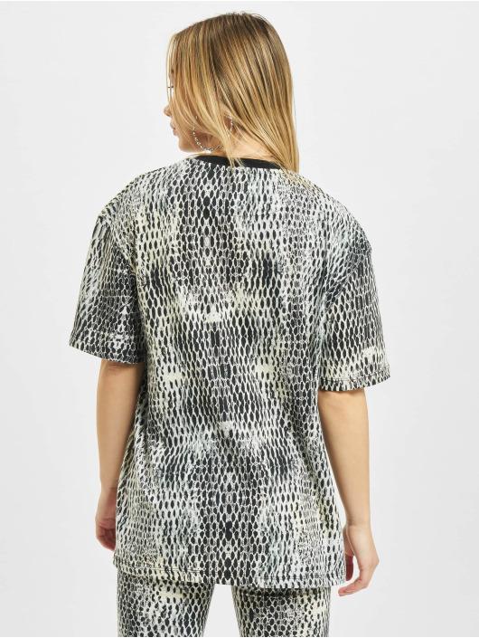 Karl Kani T-Shirt Small Signature Snake Oversize weiß