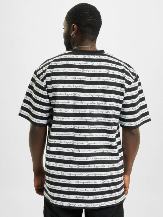 Karl Kani T-Shirt Originals Stripe weiß