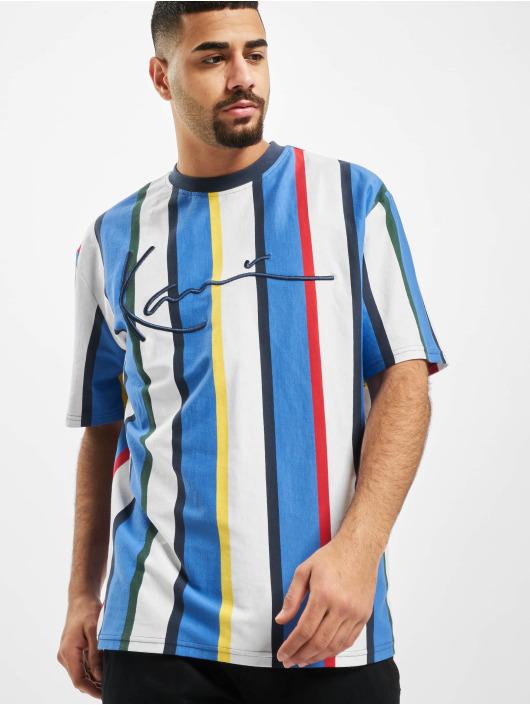 Karl Kani t-shirt Kk Stripe wit